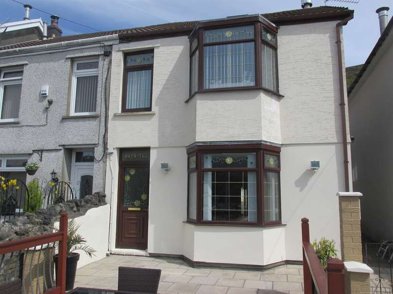 3 Bedrooms Semi Detached House for sale in Mount Pleasant, Troedyrhiw, Merthyr Tydfil