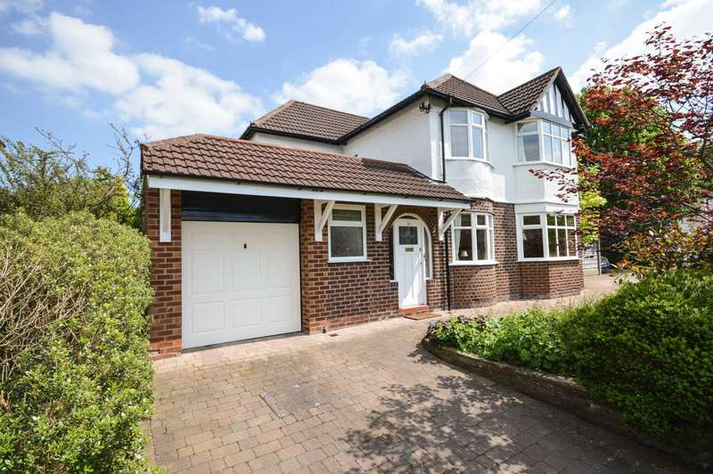 4 Bedrooms Detached House for sale in Westfield Road, Cheadle Hulme