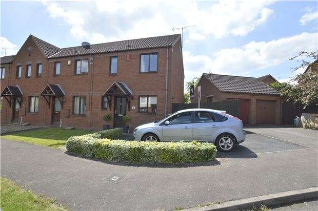 3 Bedrooms End Of Terrace House for sale in Mowbray Avenue, Stonehills, TEWKESBURY, Gloucestershire