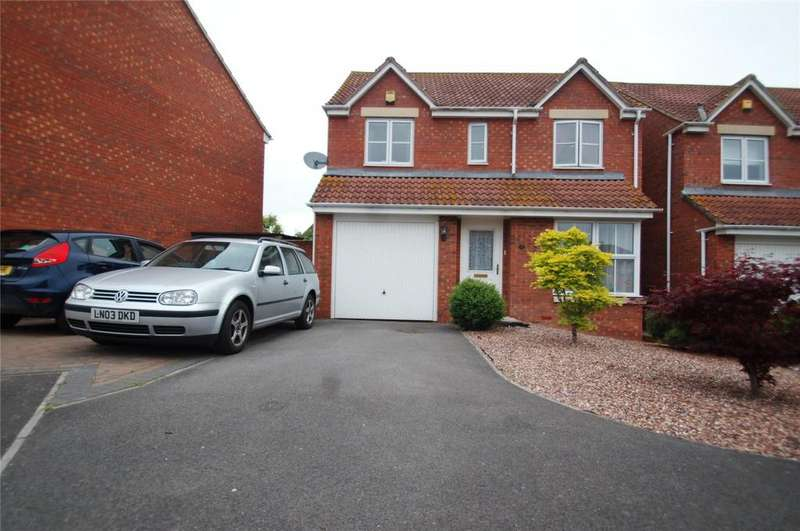 4 Bedrooms Detached House for sale in Earls Close, Bridgwater, Somerset, TA6