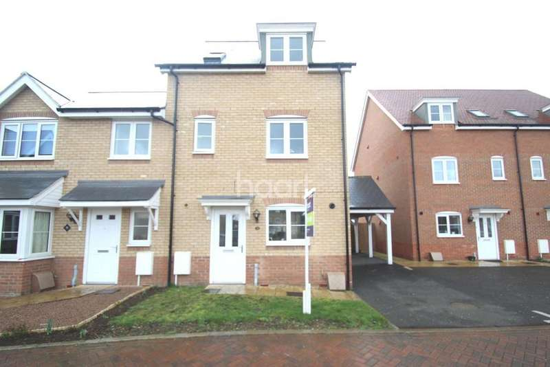 4 Bedrooms Semi Detached House for sale in Turnstile Square, Colchester, CO2
