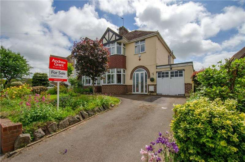 3 Bedrooms Semi Detached House for sale in Oakland Avenue, Droitwich, Worcestershire, WR9