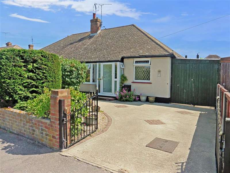 2 Bedrooms Semi Detached Bungalow for sale in Poplar Drive, Herne Bay, Kent