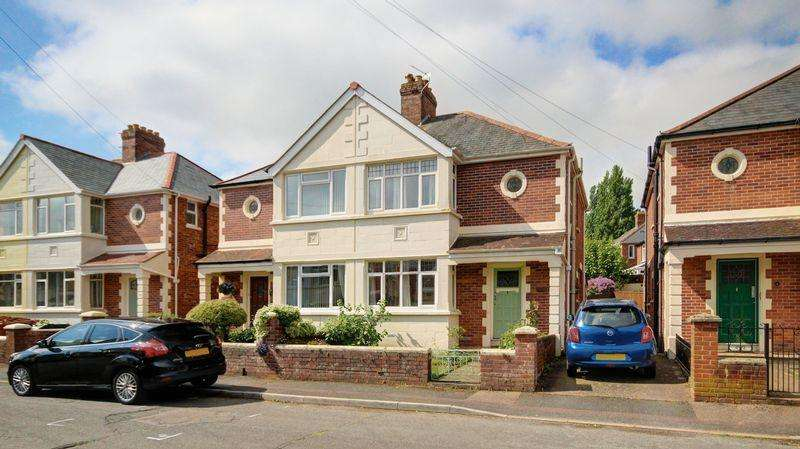 3 Bedrooms Semi Detached House for sale in Cordery Road, Exeter