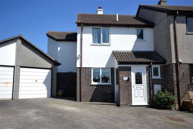 4 Bedrooms Semi Detached House for sale in Brentwartha, Polperro, Looe, Cornwall