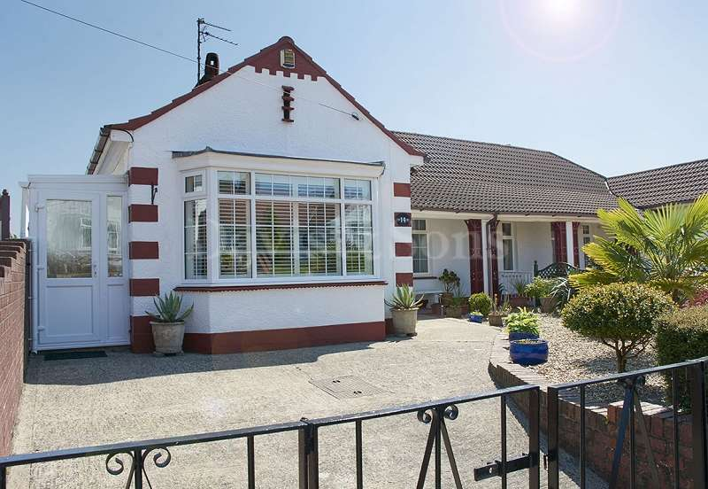 3 Bedrooms Semi Detached Bungalow for sale in Allt-yr-yn Road, Newport, Gwent. NP20 5EA