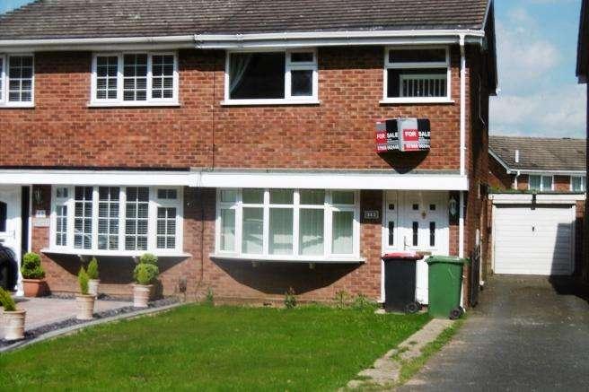3 Bedrooms Semi Detached House for sale in 19 Arleston Lane, Arleston, Wellington, Shropshire, TF1 2LT