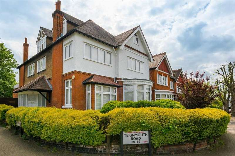 2 Bedrooms Apartment Flat for sale in Teignmouth Road, Mapesbury, London