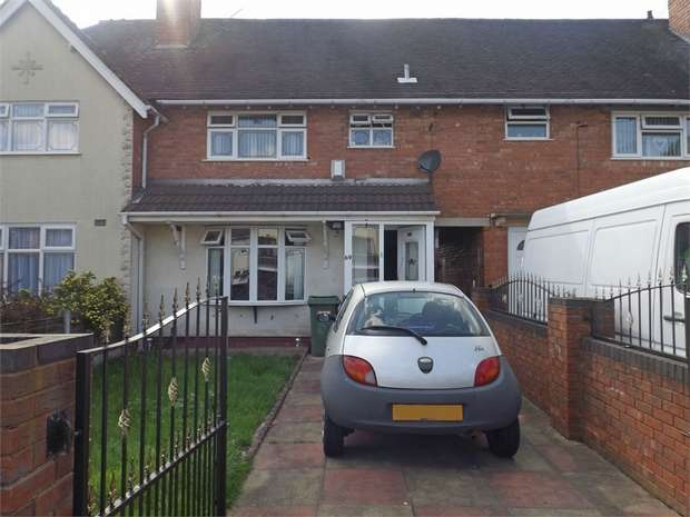 3 Bedrooms Terraced House for sale in Lane Avenue, Walsall, West Midlands