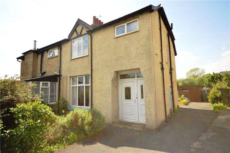 3 Bedrooms Semi Detached House for sale in Clarence Gardens, Horsforth, Leeds, West Yorkshire