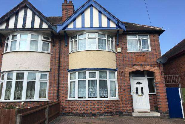 3 Bedrooms Semi Detached House for sale in Dorchester Road, Leicester, LE3