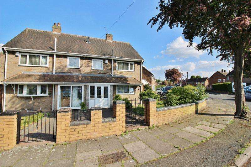 3 Bedrooms Semi Detached House for sale in Willow Avenue, Wednesbury