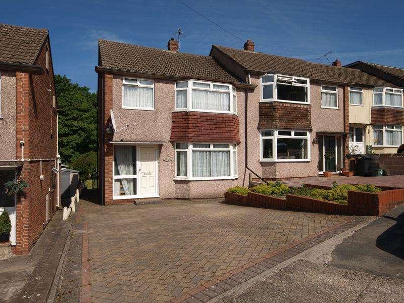 3 Bedrooms Semi Detached House for sale in Nigel Park, Bristol
