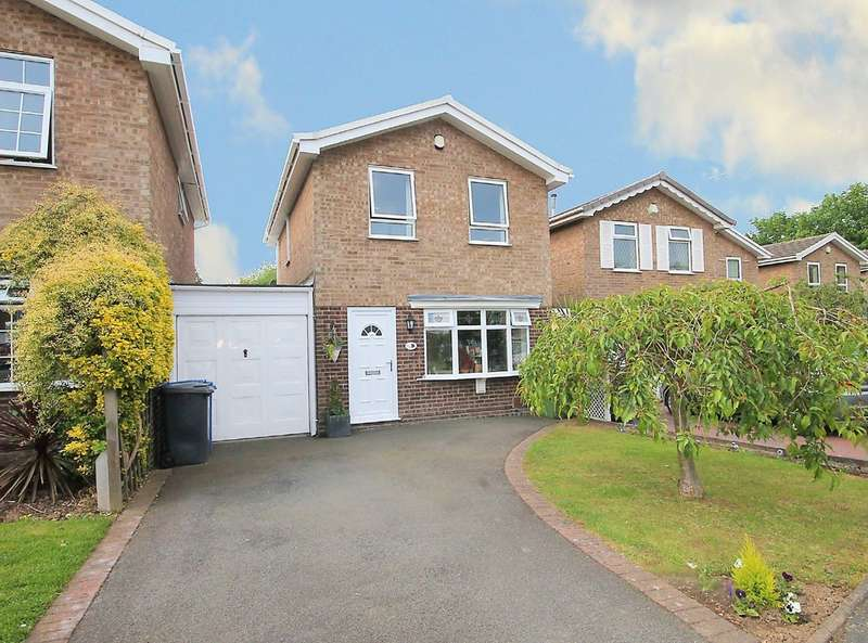 3 Bedrooms Detached House for sale in Briar, Amington, Tamworth, B77 4DZ