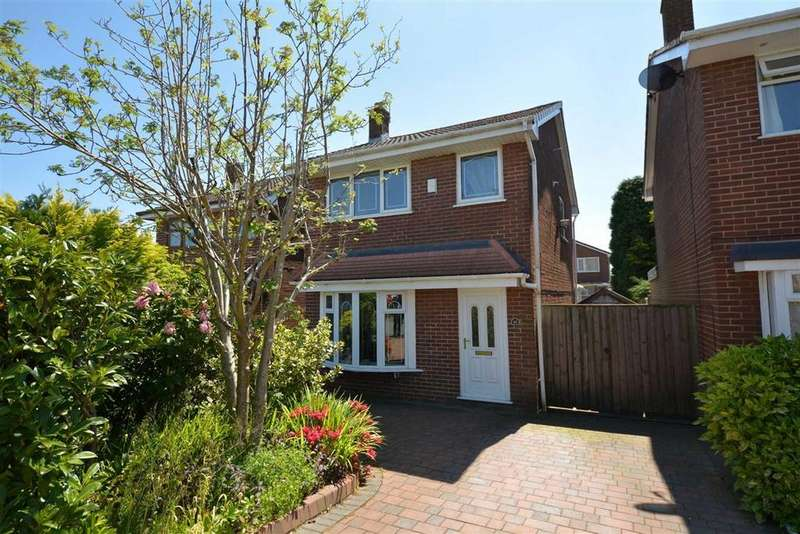 3 Bedrooms Semi Detached House for sale in Broadacre, Standish, Wigan, WN6