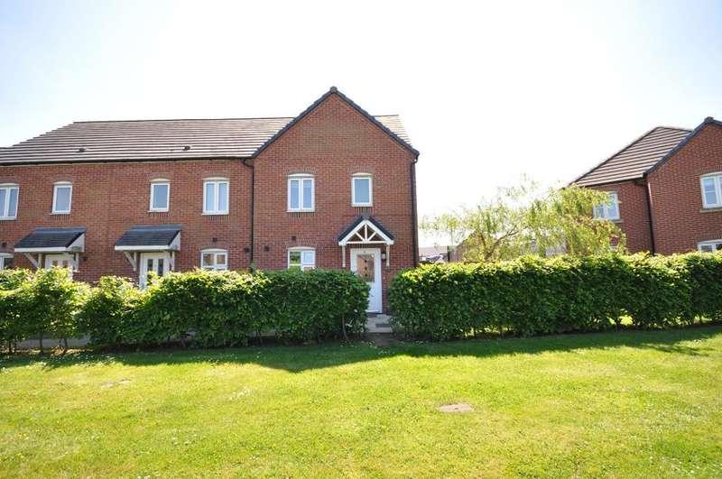 3 Bedrooms End Of Terrace House for sale in Douglas Avenue, Wesham, Preston, Lancashire, PR4 3DY