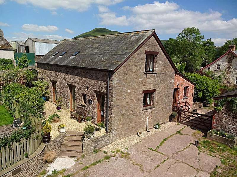4 Bedrooms Barn Conversion Character Property for sale in Llangorse, Brecon, Powys