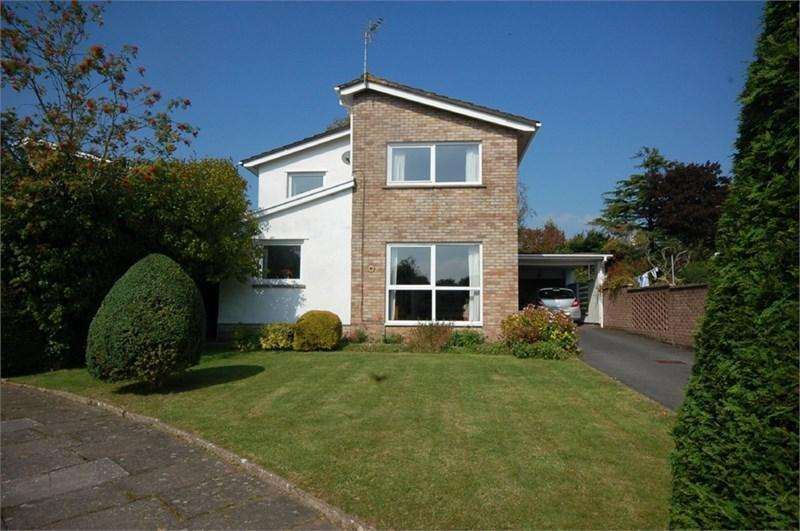 4 Bedrooms Detached House for sale in 1 Bessant Close, Cowbridge, Vale of Glamorgan