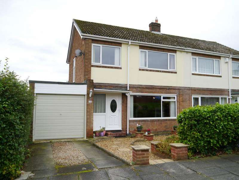 3 Bedrooms Semi Detached House for sale in Calvus Drive, Heddon-On-The-Wall