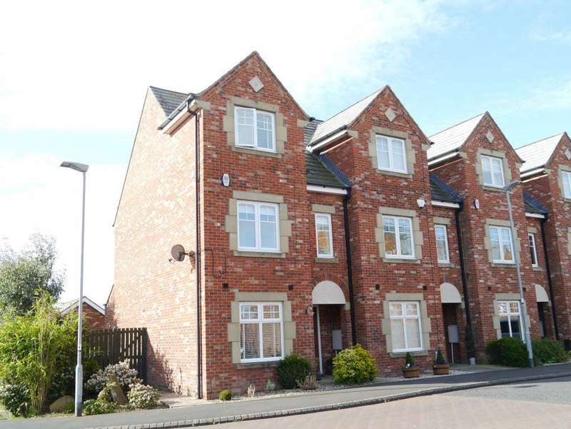 4 Bedrooms Terraced House for sale in The Lairage, Ponteland