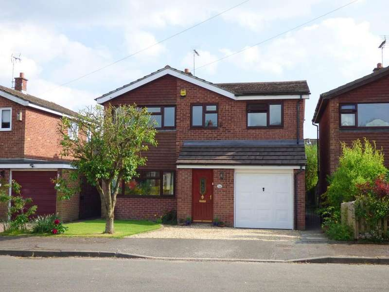 4 Bedrooms Detached House for sale in Oak Drive, Ashbourne