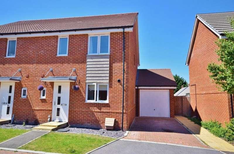 3 Bedrooms Semi Detached House for sale in Beechdown Place, Basingstoke, RG22