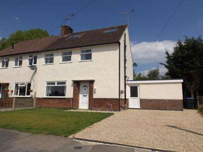 4 Bedrooms Semi Detached House for sale in Maino Crescent, Lutterworth, Leicestershire