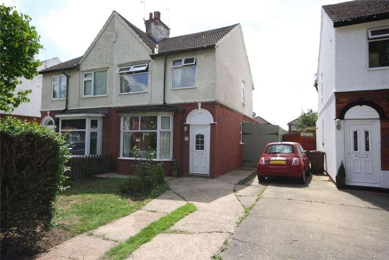 3 Bedrooms Semi Detached House for sale in St Andrews Drive, Lincoln, Lincolnshire, LN6