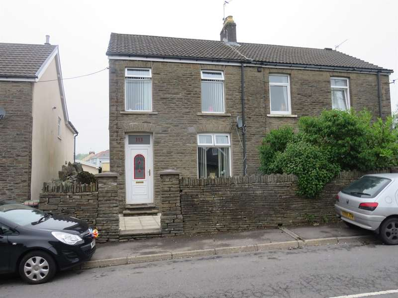 3 Bedrooms Semi Detached House for sale in Bedwellty Road, Aberbargoed, Bargoed