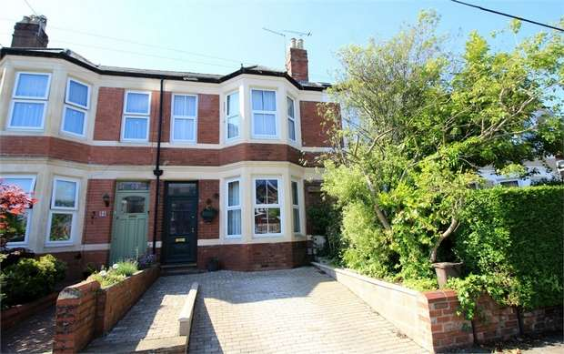 4 Bedrooms Terraced House for sale in Preston Avenue, NEWPORT