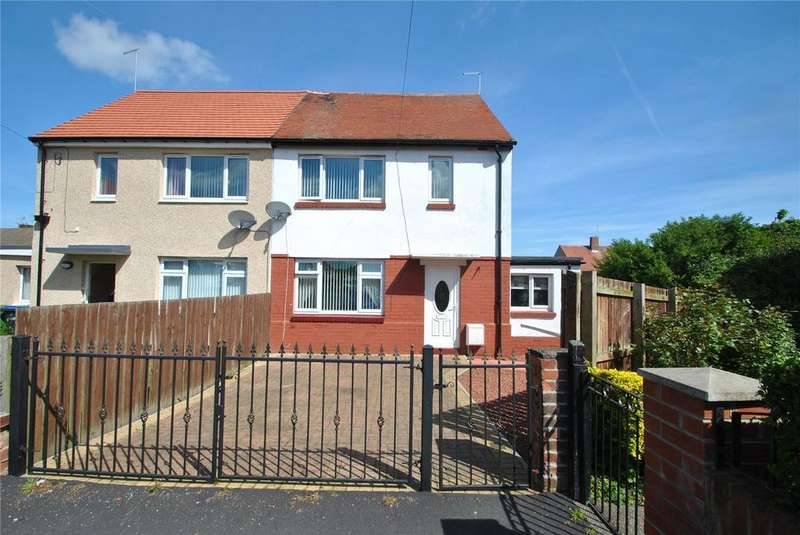 2 Bedrooms Semi Detached House for sale in Eskdale Close, Eastlea, Seaham, Co Durham, SR7