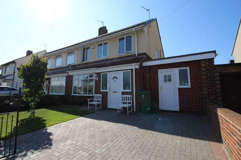 3 Bedrooms Semi Detached House for sale in Rochdale Avenue, Stockton-On-Tees, TS19