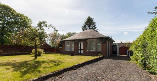 2 Bedrooms Bungalow for sale in 26 Roebank Road, Beith