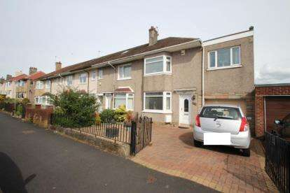 3 Bedrooms End Of Terrace House for sale in Sugworth Avenue, Garrowhill, Glasgow, Lanarkshire