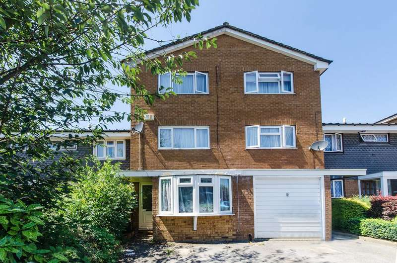 4 Bedrooms Terraced House for sale in Bannister Close, Greenford, UB6