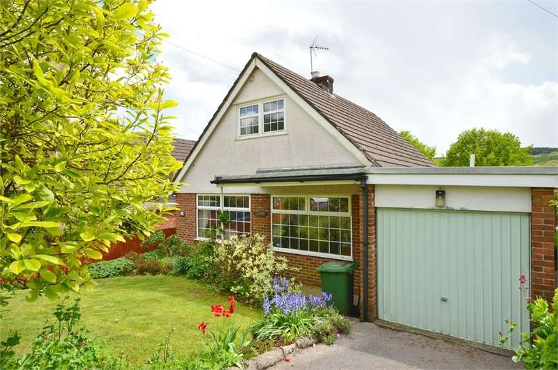 3 Bedrooms Detached Bungalow for sale in Dranllwyn Close, Machen, CAERPHILLY, CF83