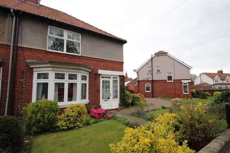 2 Bedrooms Semi Detached House for sale in Eardulph Avenue, Chester-le-Street