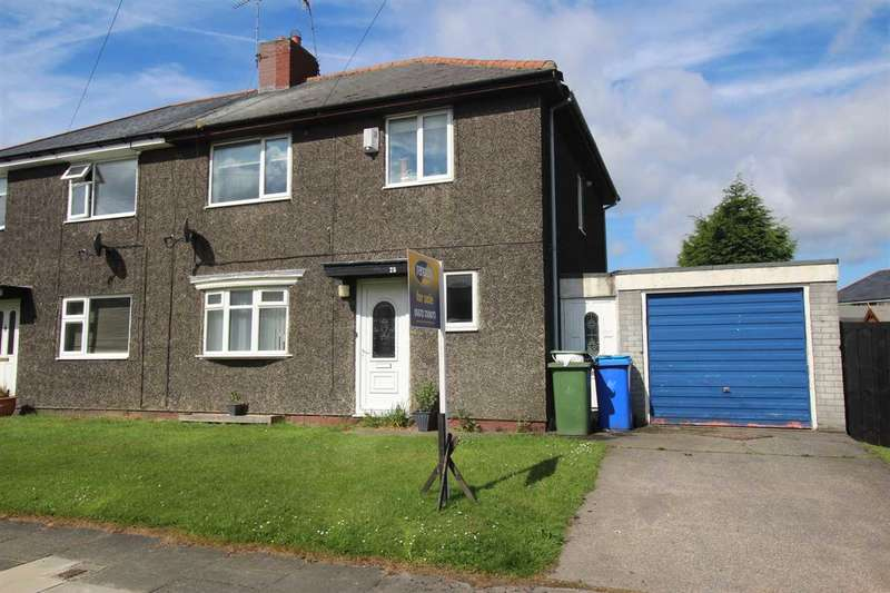 3 Bedrooms Semi Detached House for sale in Fernley Villas, Cramlington
