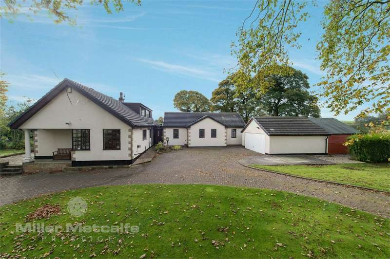 5 Bedrooms Detached Bungalow for sale in Smithy Lane, Brindle, Chorley, Lancashire