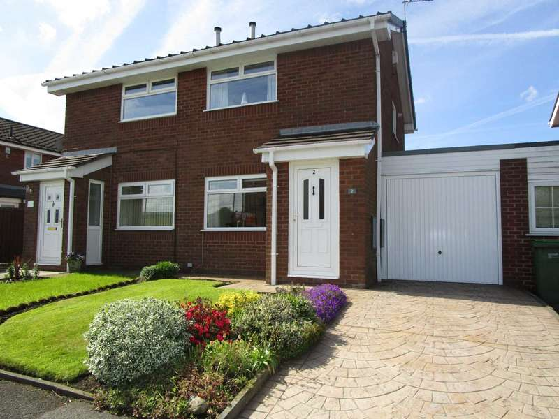 2 Bedrooms Semi Detached House for sale in Bullcote Green, Heyside