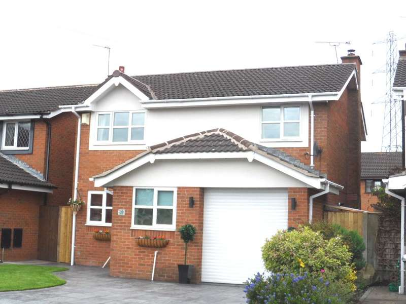 3 Bedrooms Detached House for sale in Kingfisher Drive, Poulton, FY6 7UG