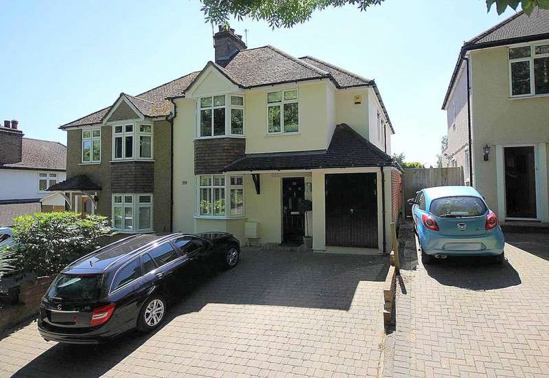 4 Bedrooms Semi Detached House for sale in EXTENDED with a FANTASTIC OPEN PLAN FAMILY AREA in sought after location in HP1