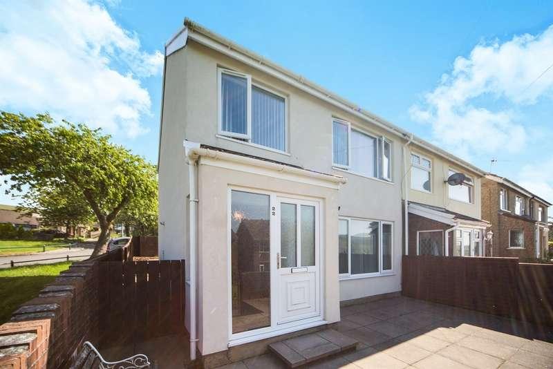 3 Bedrooms Semi Detached House for sale in Maes Y Haf, Rhymney, Tredegar