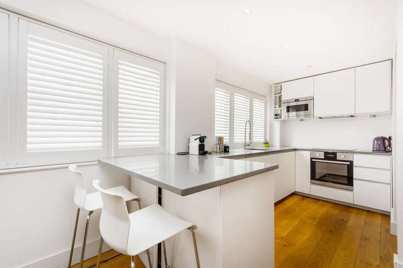 2 Bedrooms Terraced House for sale in Union Mews, Clapham North, SW4