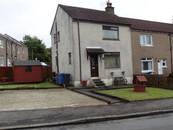 2 Bedrooms End Of Terrace House for sale in Myrtle Bank, BEITH