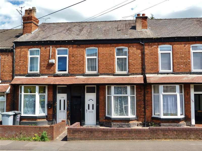 2 Bedrooms Terraced House for sale in Edleston Road, Crewe, Cheshire, CW2