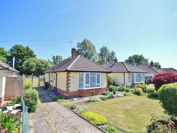 2 Bedrooms Detached Bungalow for sale in Hazlebury Road, Creekmoor, POOLE, Dorset
