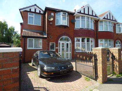 6 Bedrooms Semi Detached House for sale in Northleigh Road, Manchester, Greater Manchester