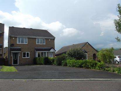 2 Bedrooms Semi Detached House for sale in The Meadows, Burnley, Lancashire, BB12
