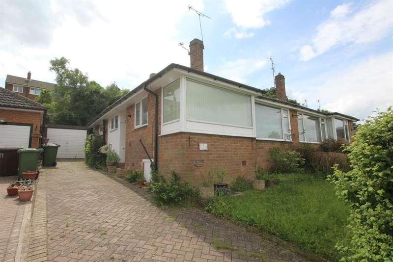 2 Bedrooms Semi Detached Bungalow for sale in Moseley Wood Gardens, Cookridge, LS16